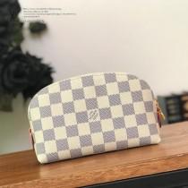 LV-N60024  路易威登新款白格原版皮小號手包化妝包