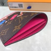 M62089 新款原版皮絲印系列護照本 卡包