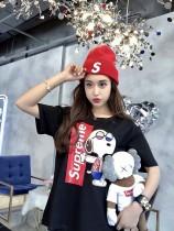 3S聯名動漫史努比酷酷狗短袖T恤