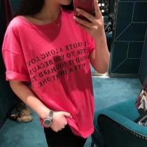 壹款超級有紀念意義的情侶T恤 春夏新款情書靚麗短袖