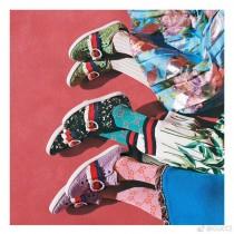 GUCCI襪子-03  古馳女神必備單品長筒襪