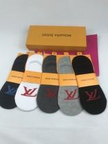 LV襪子-05  路易威登新設計純棉襪