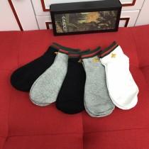 Gucci(古奇)襪子 釆用進口棉料混紡材質 穿著舒適柔軟透氣 吸汗性超好 防臭功能強