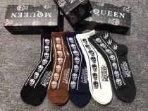 MQUEEN襪子-01  麥昆中筒襪