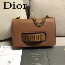 Dior-014-05   迪奧新款原版皮荔枝紋鏈條包