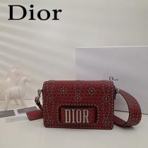 Dior-013-01   迪奧新款原版皮小母牛柔軟手提包