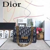 Dior-015   迪奧新款原版皮老花系列帆布斜挎包