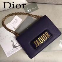 Dior-014-02   迪奧新款原版皮荔枝紋鏈條包