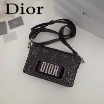 Dior-013  迪奧新款原版皮小母牛柔軟手提包