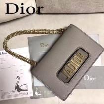Dior-014-07   迪奧新款原版皮荔枝紋鏈條包