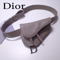 Dior-033-01   迪奧新款原版皮復古馬鞍包 腰包