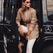 Dior-033-04   迪奧新款原版皮復古馬鞍包 腰包