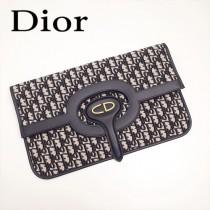 Dior-83031-01   迪奧新款原版皮復古帆布印花包