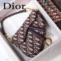 Dior-031-01   迪奧新款原版皮馬鞍包