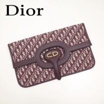Dior-83031   迪奧新款原版皮復古帆布印花包