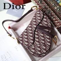 Dior-030-02   迪奧新款原版皮馬鞍包