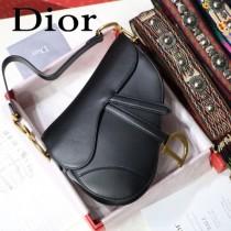 Dior-021   迪奧新款原版皮大號馬鞍包