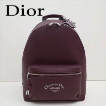 Dior-028-02   迪奧新款原版皮雙肩包