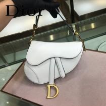 Dior-024-01   迪奧新款原版皮Saddle粒面小牛皮手提包 馬鞍包