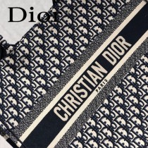 Dior-032   迪奧新款原版皮復古印花Book Tote托特包
