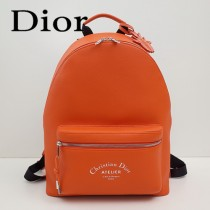 Dior-028-04   迪奧新款原版皮雙肩包
