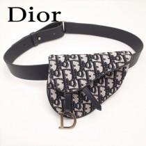 Dior-033-03   迪奧新款原版皮復古馬鞍包 腰包