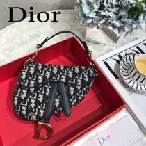 Dior-030   迪奧新款原版皮馬鞍包