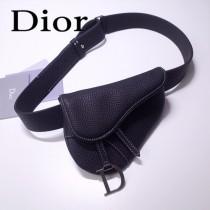 Dior-033-02   迪奧新款原版皮復古馬鞍包 腰包