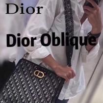 Dior-020   迪奧新款原版皮老花系列大容量通勤包