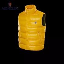 Moncler-022   蒙口新款黃色羽絨馬甲
