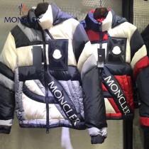 Moncler蒙口-51 最新聯名限量版重工拼色5系列鵝絨羽絨服