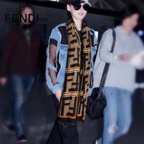 FENDI圍巾-01-01    芬迪顶级进口纯羊绒围巾