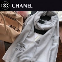 chanel圍巾-021-01    香奈兒羊絨戒指絨圍巾
