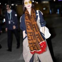 FENDI圍巾-01-02    芬迪顶级进口纯羊绒围巾