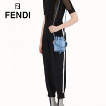 FENDI包包-01   芬迪Mon Tresor牛皮小水桶