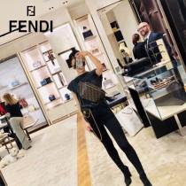 FENDI包包-09   芬迪經典雙F進口牛皮時髦腰包 胸包