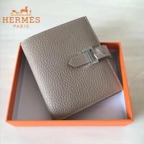 HERMES包包-07-08   愛馬仕H扣短夾錢包