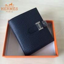 HERMES包包-07-09   愛馬仕H扣短夾錢包