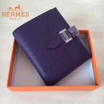 HERMES包包-07-03   愛馬仕H扣短夾錢包