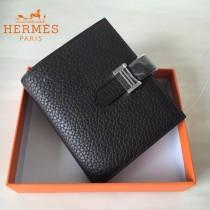 HERMES包包-07-01   愛馬仕H扣短夾錢包