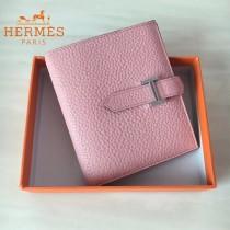 HERMES包包-07-011   愛馬仕H扣短夾錢包