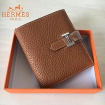 HERMES包包-07-02   愛馬仕H扣短夾錢包