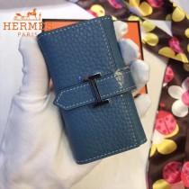 HERMES包包-09-011      愛馬仕H扣小mini鑰匙包