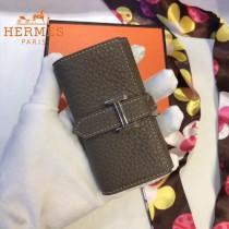 HERMES包包-09      愛馬仕H扣小mini鑰匙包