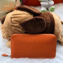 HERMES包包-011-016      爱马仕拉链钱包