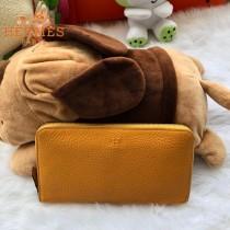 HERMES包包-011-06      愛馬仕拉鏈錢包