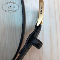 Prada普拉達 原單頭層牛皮荔枝紋面,內襯頭層小牛皮底1-02