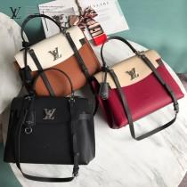 LV-M51395-01   路易威登新款原版皮LOCKME EVER手袋