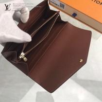 M60531  經典款女士錢包 原版皮 采用全進口皮料,歐牙拉鏈