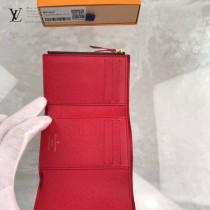 N41659  原版皮經典款豆豆短款錢夾